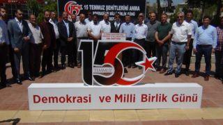 Erciş'te 15 Temmuz Demokrasi ve Milli Birlik Günü