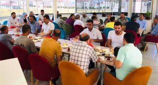 Erciş Belediye Başkanı Yıldız Çetin esnafla bir araya geldi