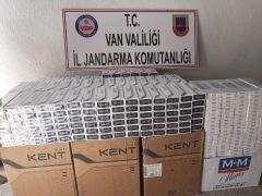 Muradiye 11 bin 500 paket kaçak sigara ele geçirildi