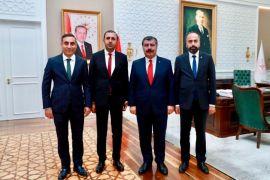 Rektör Şevli'den Bakan Koca'ya ziyaret