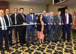 Rektör Şevli, '7. Türk Üniversiteleri Fuarı'na katıldı