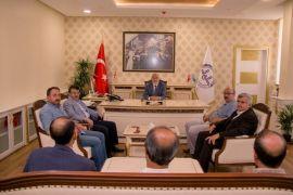 Türkmenoğlu'nun kurum ziyaretleri devam ediyor