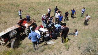 Van'da traktör kazası: 1 ölü, 1 yaralı