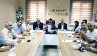 """AK Parti milletvekilleri: """"Van'ın kalkınması ortak gayemizdir"""""""