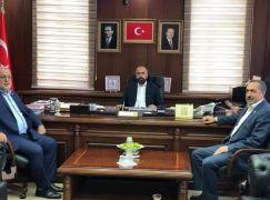 AK Parti milletvekillerinden Rektör Şevli'ye ziyaret