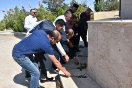 Azerbaycanlı papazlardan Zeve Şehitliği'ne ziyaret, Ermenilere tepki