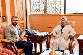 Başkan Say'dan Sancaktepe Belediye Başkanı Döğücü'ye ziyaret
