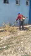 Çaldıran'daki okullarda çevre düzenlemesi