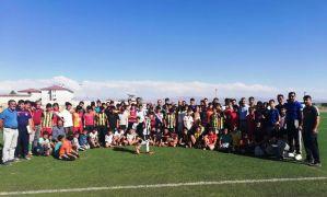 Erciş Gençlik Belediye Spor futbolcu seçmelerini tamamladı