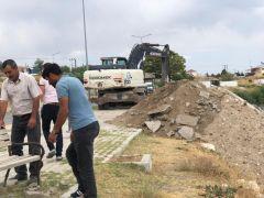 Erciş sahil yolu 2. etap yürüyüş yolu projesi start aldı
