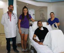 İzmirli hasta Van'da sağlığına kavuştu