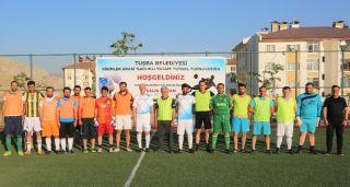 Tuşba'da 'Birimler Arası Futbol Turnuvası' heyecanı