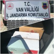 Van'da 900 paket kaçak sigara ele geçirildi
