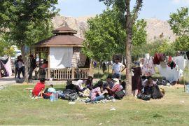 Van'daki göçmenler otogarı mesken tuttu