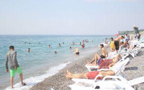 Van Gölü sahilleri Ege ve Akdeniz plajlarını aratmıyor