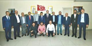AK Parti heyetinden VESOB'a ziyaret