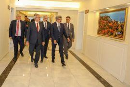 Antalya ve Isparta valilerinden Vali Bilmez'e ziyaret