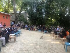 Bahçesaray Kaymakamı Öztabak'tan taziye ziyareti