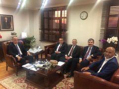 Başkan Asya, Ankara'da temaslarını sürdürüyor