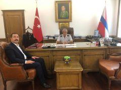 Başkan Kahraman'dan Jandarma Genel Komutanı Orgeneral Çetin'e ziyaret