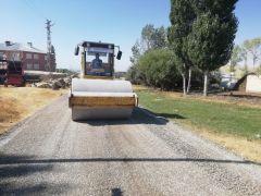 Edremit Belediyesinden yol çalışması