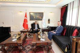 Emniyet Müdürü Karabağ'dan Vali Bilmez'e ziyaret