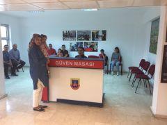 Erciş'te jandarmadan 'Güven Masası' uygulaması