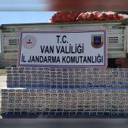 Soğan çuvallarının altında 4 bin paket kaçak sigara çıktı