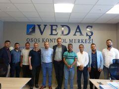 VEDAŞ'ın çalışmaları yurtdışına örnek olmaya devam ediyor