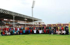 Van Büyükşehir Belediyesi 150 sporcuyu üniversiteli yaptı