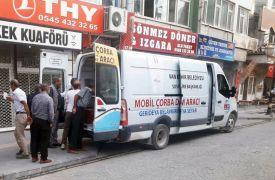 Van Büyükşehir Belediyesi çorba dağıtımına başladı