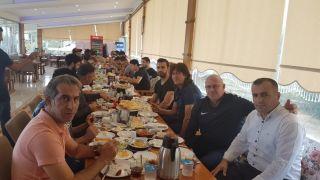Van Kahvaltı Konağı'ndan Van Spor FK'ye moral kahvaltısı