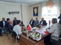 AK Parti Gürpınar İlçe Başkanı Güngör göreve başladı