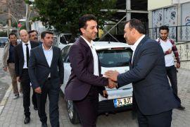 Başkan Şeylan'dan Başkan Kuncu'ya ziyaret