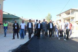 Edremit Belediyesinden kurbanlı asfalt sezonu açılışı