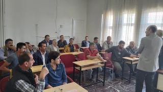 Erciş'te avcı eğitim kursu tamamlandı