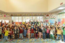 İpekyolu Atatürk Anaokulu'nda ağız ve diş sağlığı programı