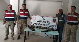 Kaçak avcılık yapan 3 kişi suçüstü yakalandı