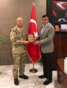 Tümgeneral İlbaş'tan Müdür Sünnetçioğlu'na ziyaret