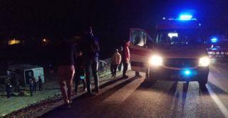 Van'da askeri araç kaza yaptı, yaralılar var