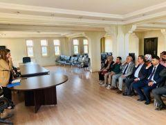 Çaldıran Belediyesi personeline işaret dili kursu