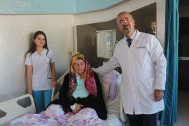Çorumlu glomus tümörü hastası şifayı Van'da buldu