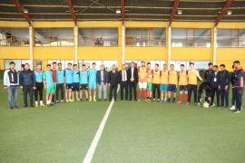 Edremit'te 'Mahalleler Arası Futbol Turnuvası' start aldı