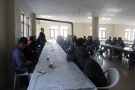 Kadına yönelik şiddetle mücadele semineri