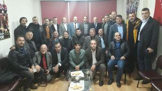 Trabzon heyeti, Van Trabzonsporlular Derneği'ni ziyaret etti