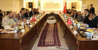 Türkiye ile İran arasında '55. Alt Güvenlik Komite Toplantısı' Van'da başladı