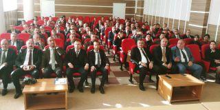 Van'da 'Ölçme, Değerlendirme ve Akademik Başarı' toplantısı