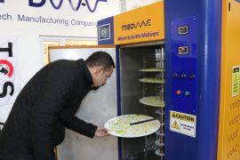 Van'da meyve ve sebze kurutma makinesi yapıldı