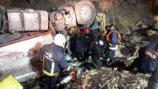 Van'da trafik kazası; 1 ölü