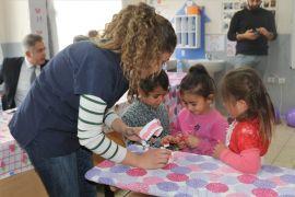 Vanlı minik öğrenciler diş hastalıkları hakkında bilgilendirildi